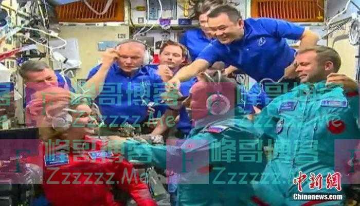 国际空间站在太空中错误旋转57度 持续约30分钟