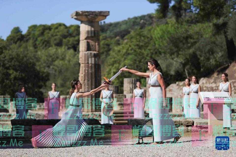 希腊各界瞩目冬奥火种 期待北京盛会