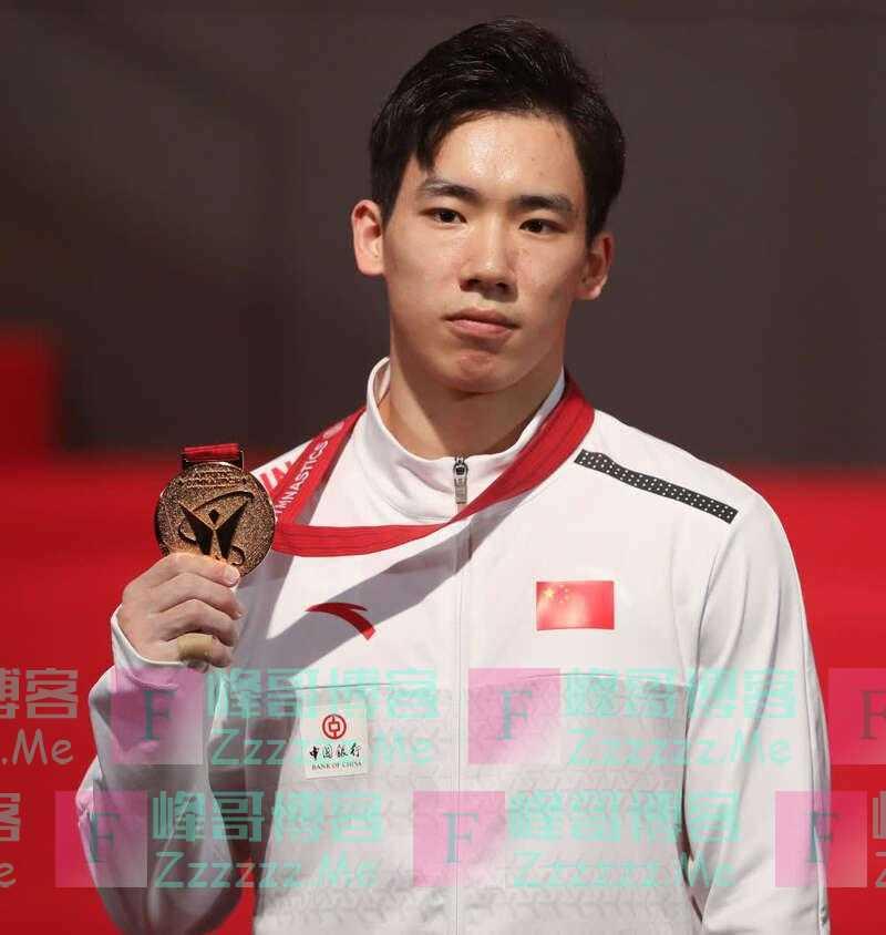 张博恒战胜桥本大辉赢得体操世锦赛男子个人全能冠军