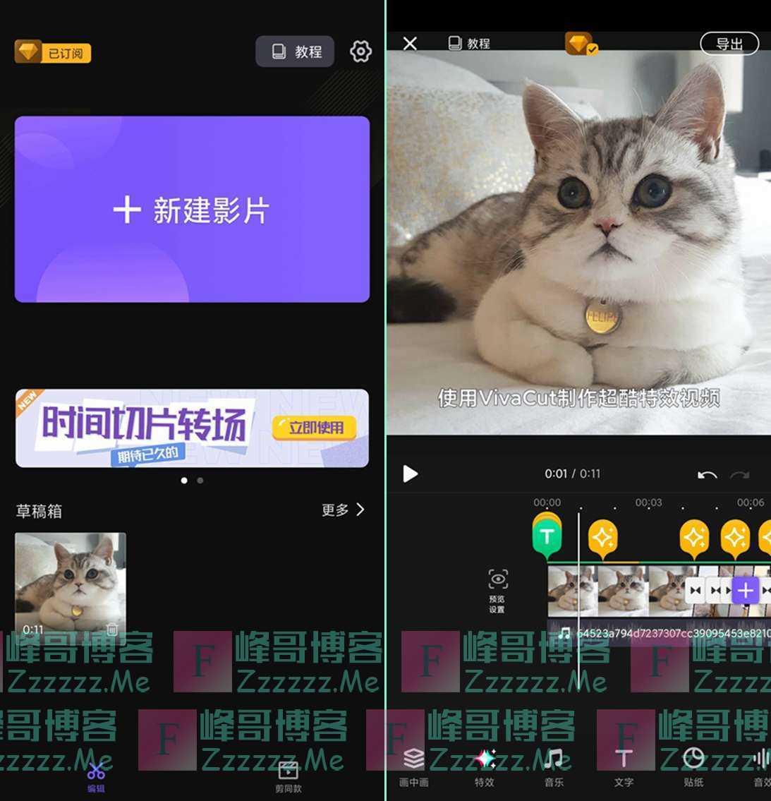 安卓VivaCut专业视频编辑软件V1.7.2 VivaCutPRO专业破解版下载