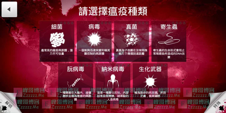 安卓瘟疫公司V1.16.3 繁体中文绿色破解版下载 解锁所有病毒种类