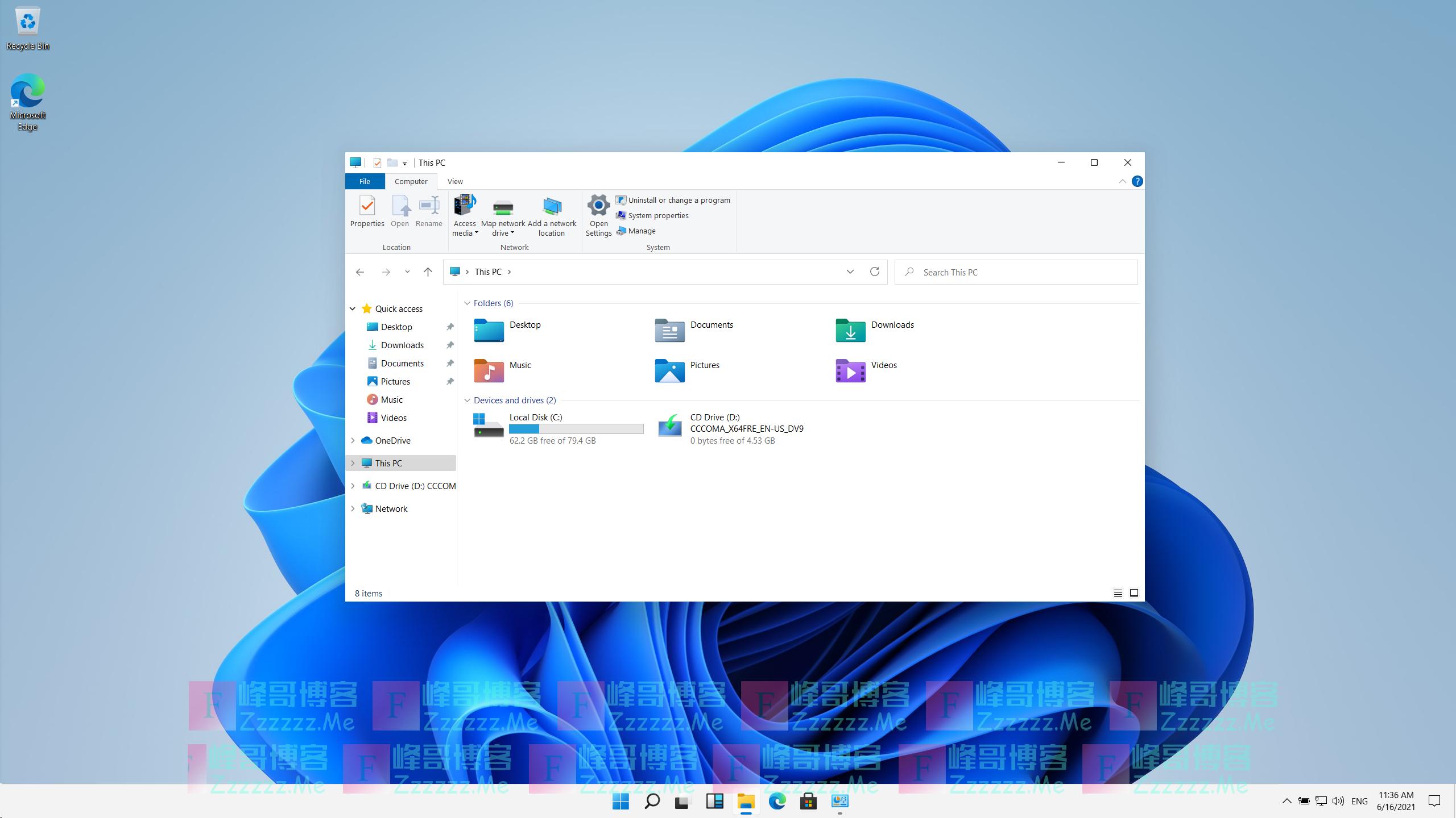 微软Windows11泄露版下载 Windows11镜像下载