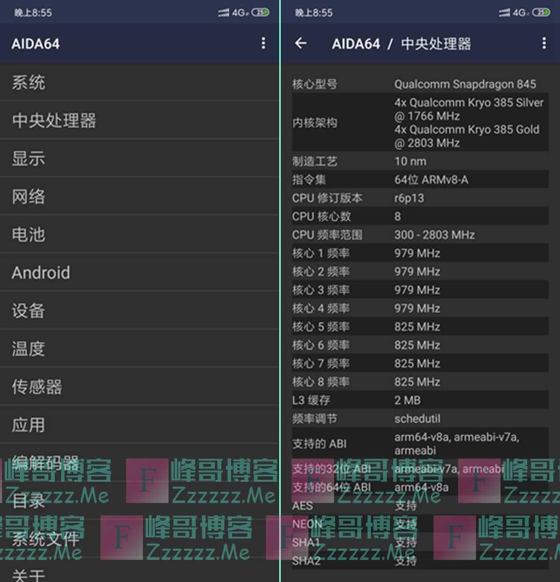 AIDA64 V1.67 安卓硬件信息检测工具下载 中文汉化高级解锁版